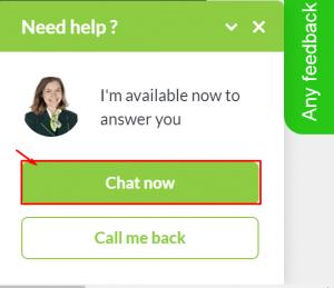 europcar live chat