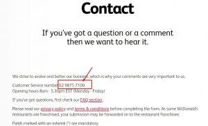 McDonald's Phone number - Best way to contact McDonald's customer care