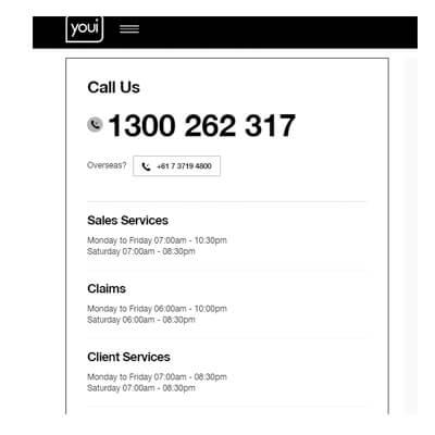 Youi Insurance Customer Service